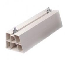 Plastový podstavec PVC sivý 420mm
