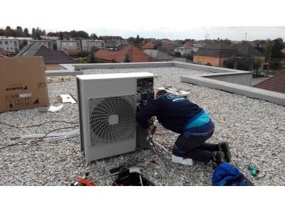 Montáž klimatizácie - Kolárovo